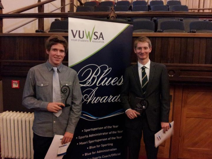 Luke Watts and Jamie Hunter: Recipients of 2011 Blues Awards