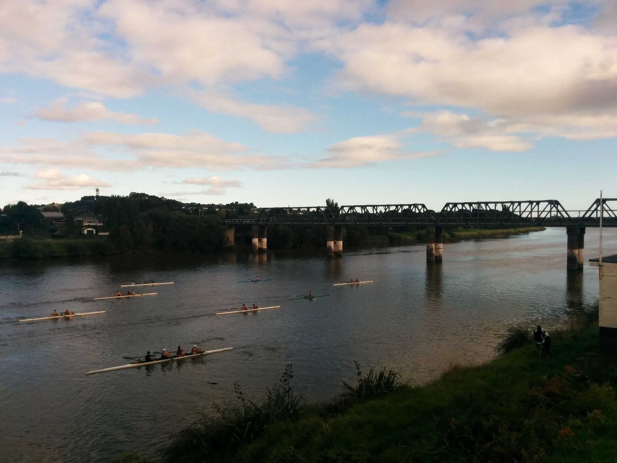 VURC Flotilla on the Whanganui